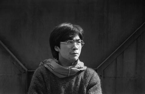 张枣1986年成都 肖全摄影